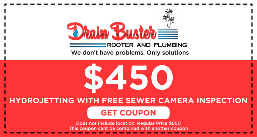 Drain Buster Hydrojetting Coupon