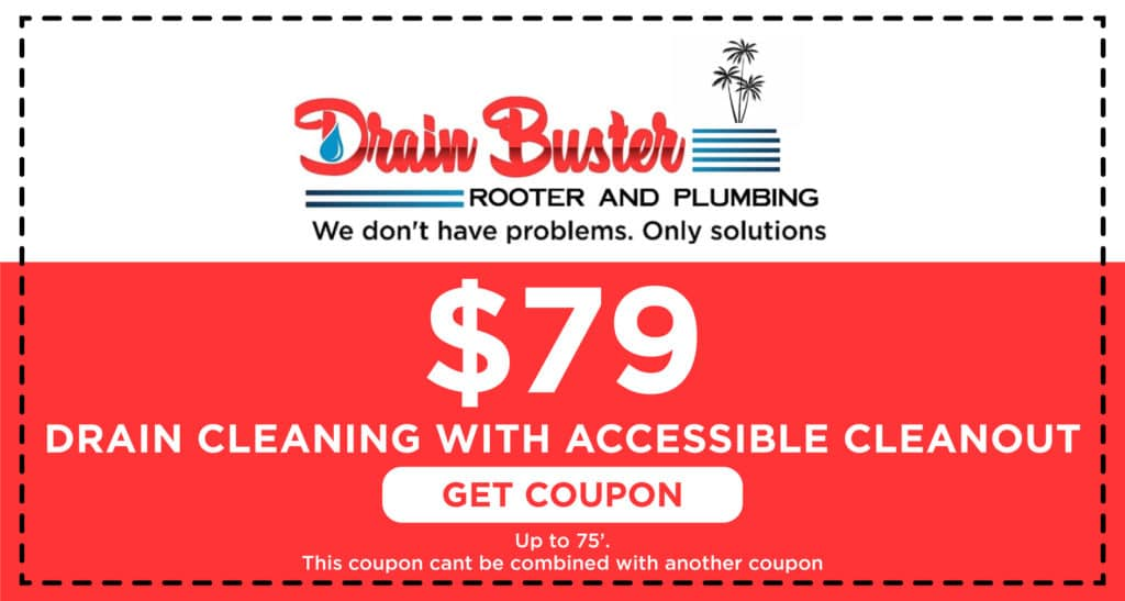 Drain Buster Drain Cleaning Coupon